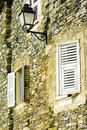 Detail of corsica house Royalty Free Stock Photo