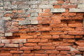 Detail of a dated wall in Burano island, Venice Royalty Free Stock Photo
