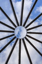 Detail of dome structure Royalty Free Stock Photo