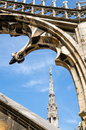 Detail of the duomo di milano in milan italy Stock Photo