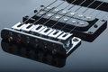 Detail of electric guitar Royalty Free Stock Photo
