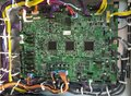 stock image of  Electronic motherboard of printer machine