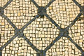 Detail famous calcada portuguesa portuguese pavement Royalty Free Stock Images