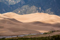 Detail of Great Sand Dunes NP Royalty Free Stock Photo