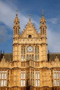 Detail of House of Parliament, London Royalty Free Stock Photos