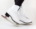 Detail of ice skates Royalty Free Stock Photo