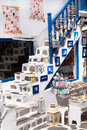 Detail image from a greek touristic shop on mykonos island gree greece Stock Photography