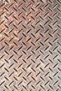 Detail industrial grade checkerplate steel Royalty Free Stock Photography