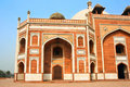 Detail  inside of The Red Fort Royalty Free Stock Photo