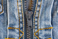 Detail of jeans jacket Stock Image