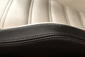 Detail of leather car seat horizontal photo Stock Image