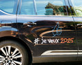Detail of luxury Renault Initiale Paris for Expo 2025