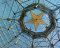 Detail of main hall star ceiling in Gaylord Texan hotel. Royalty Free Stock Photo
