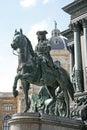 Detail of maria theresa monument in maria thesienplatz vienna austria april Royalty Free Stock Photos