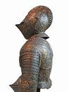 Detail medieval tournament armor museum of the army les invalides paris france Royalty Free Stock Photography
