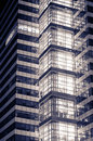 Detail of modern business building Royalty Free Stock Photo