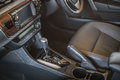 Detail of new modern car interior Royalty Free Stock Photo