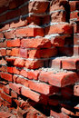 Detail of Old Brick Wall Royalty Free Stock Photo