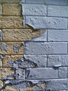 Detail of Old Brick Wall Royalty Free Stock Images