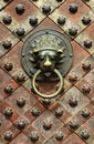 Detail of old door Royalty Free Stock Photo