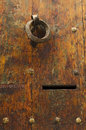 Detail old door segovia spain Royalty Free Stock Images
