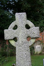 Detail of Old Gravestone Royalty Free Stock Photo