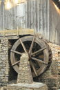 Detail of Old Grist Mill - Marietta Georgia Royalty Free Stock Images