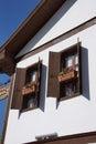 Detail old style turkish konak country house in safranbolu turkey Stock Photo