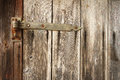 Detail of old wooden door Royalty Free Stock Photo