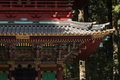Detail of pagoda roof at Tosho-gu temple in Nikko Royalty Free Stock Photo