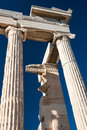 Detail of Parthenon temple Acropolis Royalty Free Stock Image