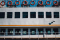 Detail from a passenger ship Royalty Free Stock Photo