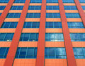 Detail pattern of building facade Royalty Free Stock Images