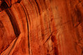 Detail patterns and cracks in red navajo sandstone walls along the taylor creek trail kolob canyon zion national park utah Royalty Free Stock Photography