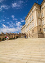 Detail of the Prague Castle Royalty Free Stock Images