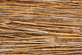 Detail of reed fence Royalty Free Stock Photography