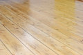 Detail of a renovated wooden floor Stock Photos