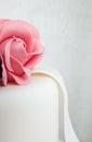 Detail Of Rose Of Wedding Cake