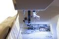 Detail sewing machine Royalty Free Stock Photo