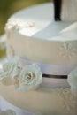 Detail Shot Of A Wedding Cake