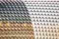 Detail of Singapore esplanade theater Royalty Free Stock Photo
