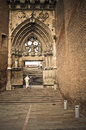 Detail st cecilia cathedral albi Royalty Free Stock Images