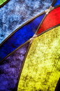 Detail of stained glass Royalty Free Stock Photo