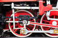 Detail of a steam train Royalty Free Stock Photo