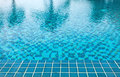 Detail of swimming pool water background Royalty Free Stock Photo