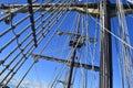 Tall ship mast Royalty Free Stock Photo