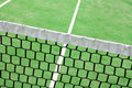 Detail on a tennis court Royalty Free Stock Photo