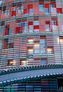 Detail of Torre Agbar in Barcelona Royalty Free Stock Photography