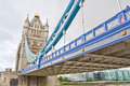 Detail of Tower Bridge Royalty Free Stock Image