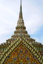 Detail tower thailand bangkok gold Stock Image